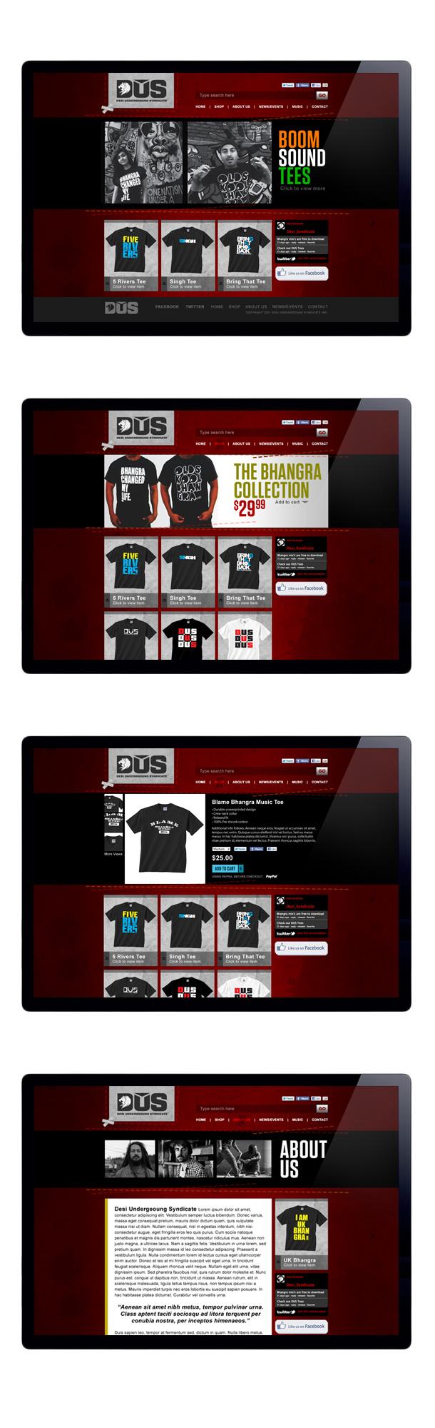 Ondisplay.ca portfolio - DUS web shots